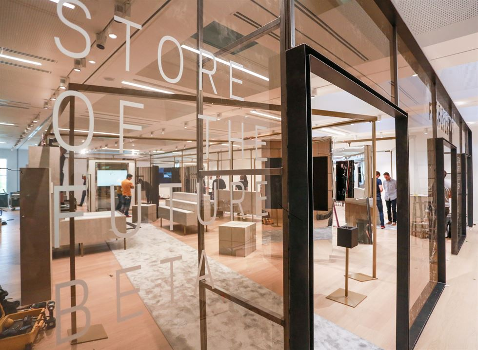 Farfetch's 'Store of the Future.' Courtesy of Interfashion Planning