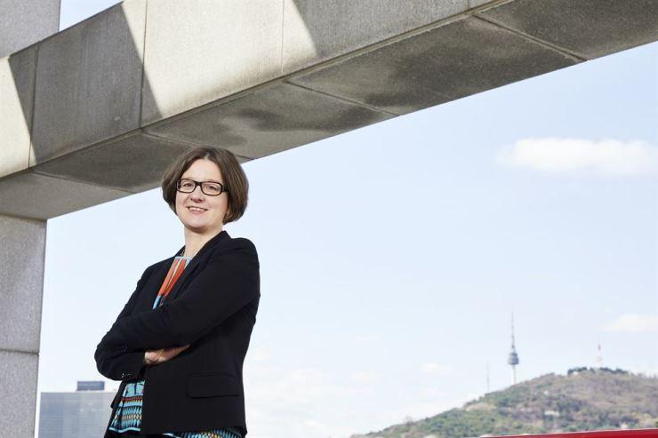 Korean-German Chamber of Commerce and Industry (KGCCI) President Barbara Zollmann. Courtesy of KGCCI