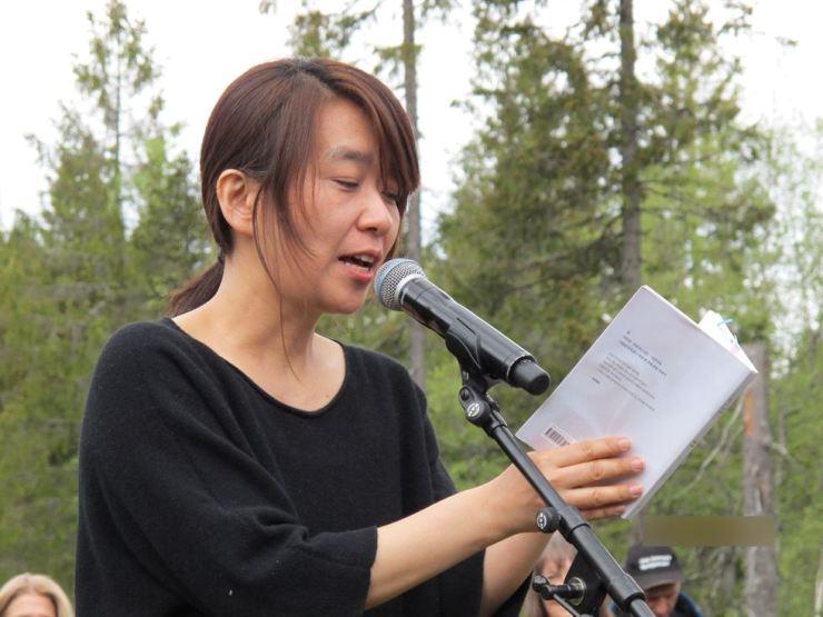 Novelist Han Kang / Yonhap