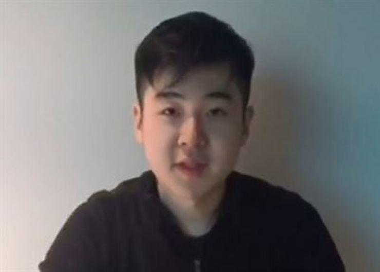 Kim Han-sol, son of North Korean leader Kim Jong-un's half-brother Kim Jong-nam