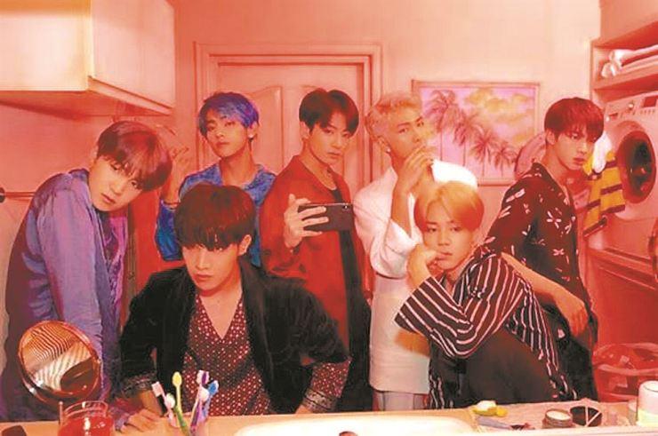 K-pop boy band BTS. Courtesy of Big Hit Entertainment