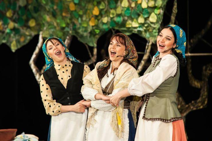 'Fiddler on the Roof' from Russia will be staged at the 13th Daegu International Musical Festival on July 5-7. Courtesy of DIMF