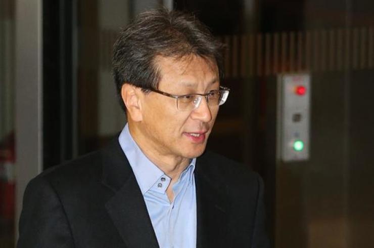Chung Hyun-ho, president of Samsung Electronics / Yonhap