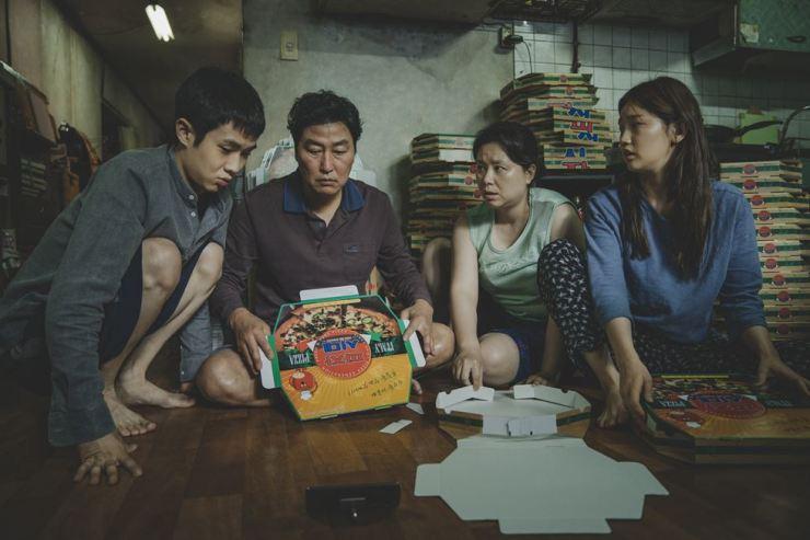 A scene from Bong Joon-ho's latest film