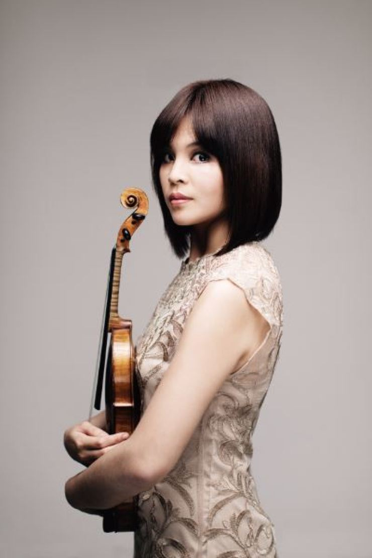 Violinist Lee Ji-yoon and Ben Kim will be the next performers featured in this series./Courtesy of Kumho Art Hall Yonsei