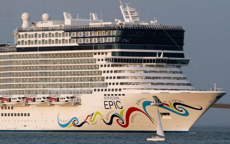 The Norwegian Epic cruise ship. Reuters