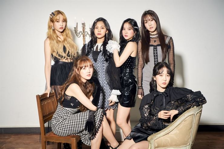 K-pop girl band GFriend debuted in 2015. Courtesy of Source Music