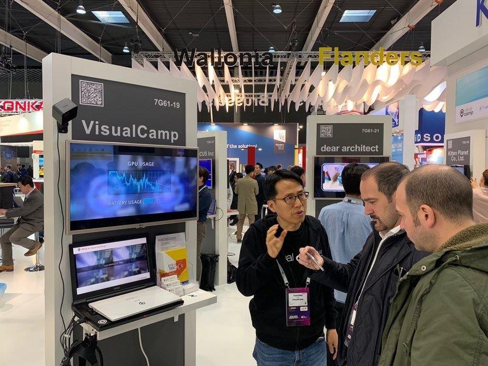 visualcamp_2019mwc exhibition