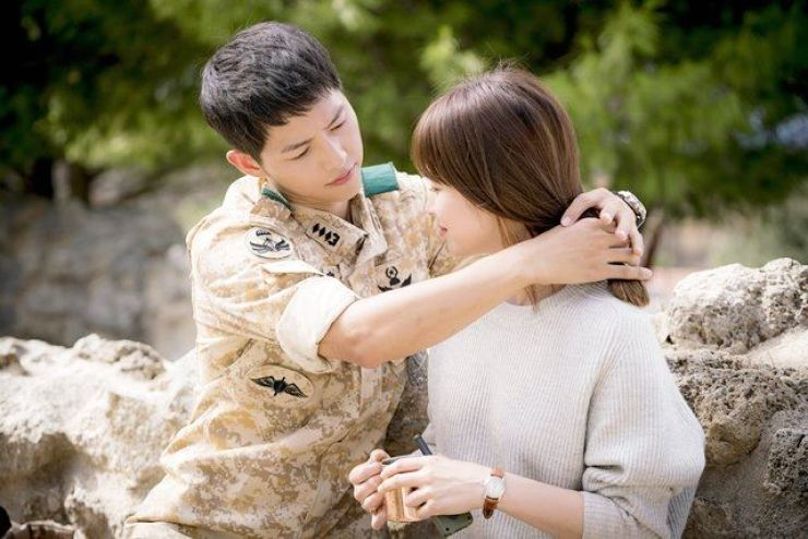 Song Joong-ki and Song Hye-kyo in