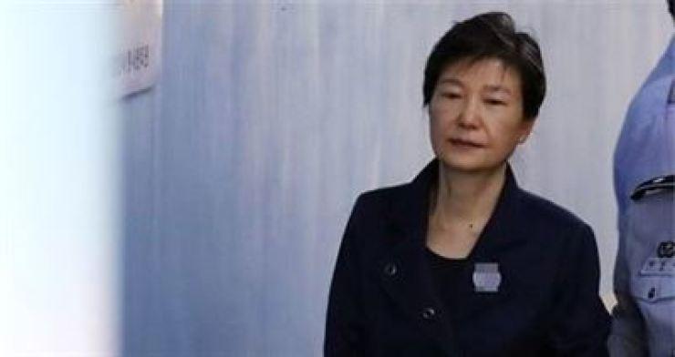 Former President Park Geun-hye /Korea Times file