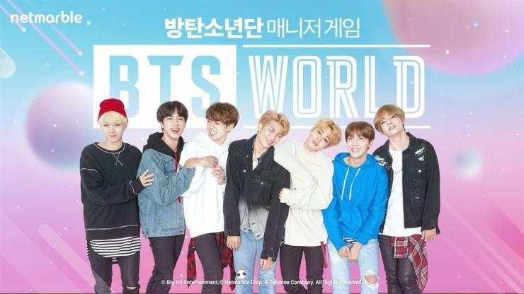 Netmarble's mobile game 'BTS World' / Courtesy of Netmarble
