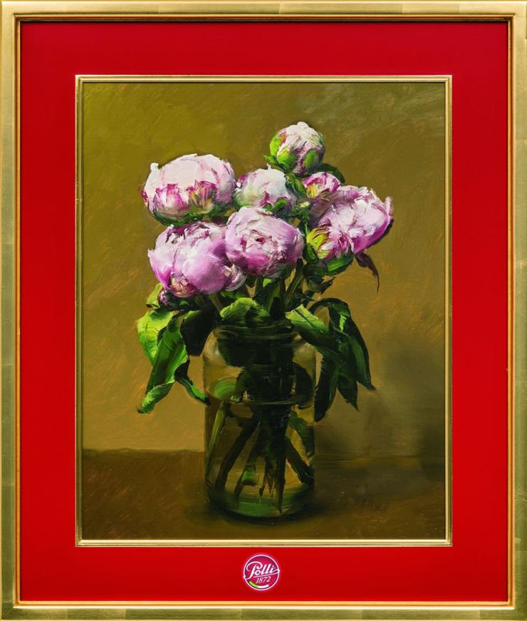 Kim Sung-yoon's 'Peonies in a Polli Jar' (2018) / Courtesy of the artist and Gallery Hyundai