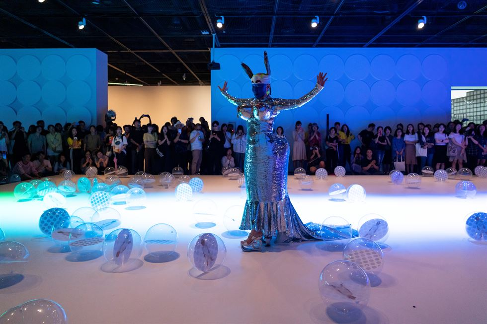 Dancer and choreographer Ahn Eun-me celebrates her 30th career anniversary in an unusual way for a performer ― an exhibition at the Seoul Metropolitan Museum of Art titled 'Known Future.' Courtesy of SeMA