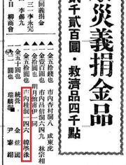 A 1934 Dong-a Ilbo clipping specifying Han Hak-su's Bukchon address / Naver News Library