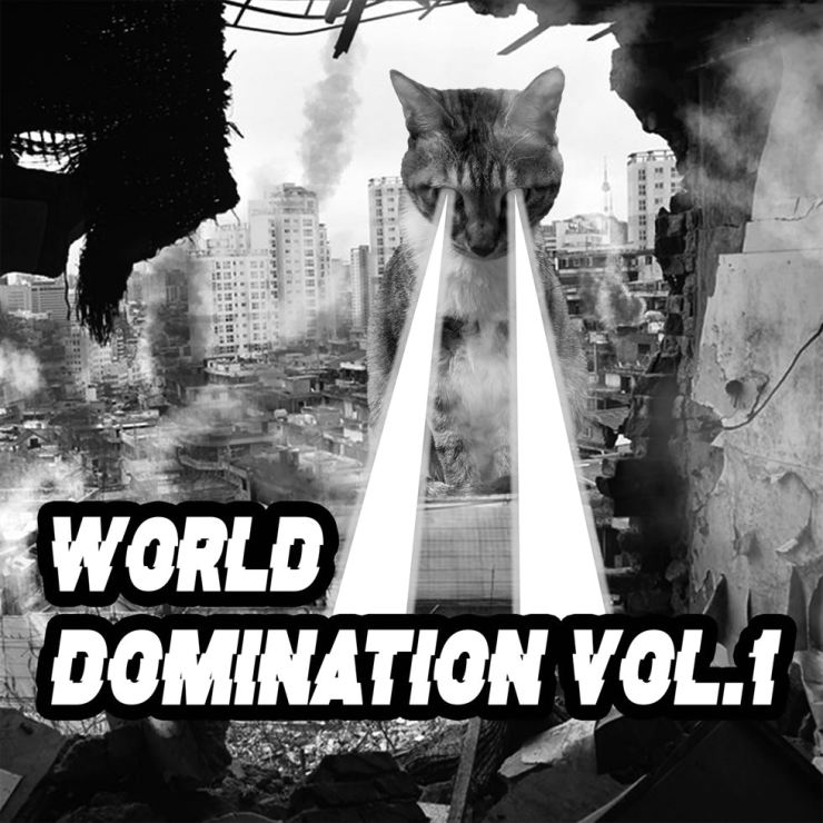 The cover of World Domination Vol.1 / Courtesy of World Domination, Inc.