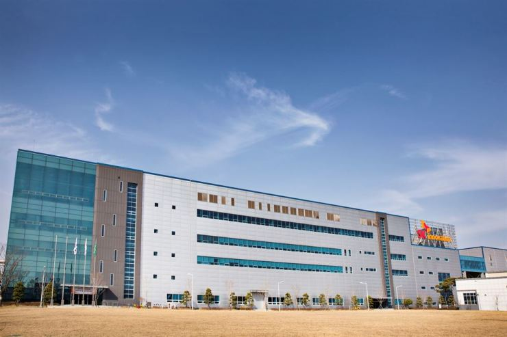 SK Innovation's EV battery plant in Seosan, South Chungcheong Province / Courtesy of SK Innovation