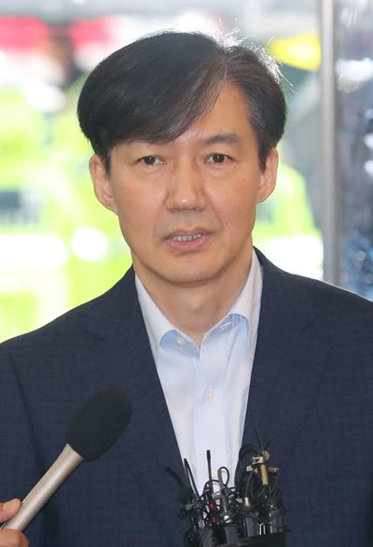 Justice Minister nominee Cho Kuk