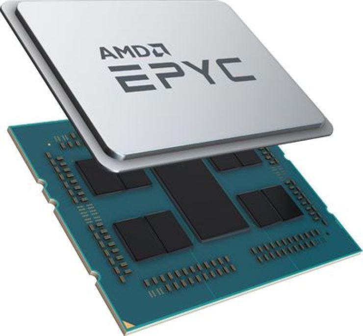 AMD's second-generation EPYC 7002 Series processors / Courtesy of AMD