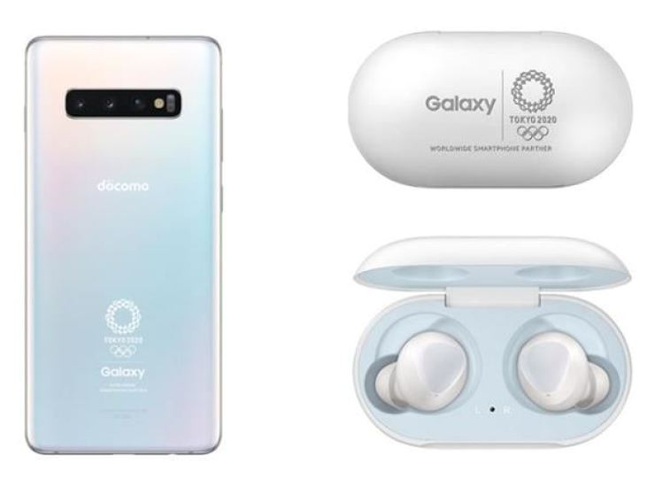 The limited edition Galaxy S10 Plus was launched in Japan in July in partnership between NTT Docomo and Samsung Electronics commemorating the Tokyo 2020 Olympic Games. Japanese companies have sought to commercialize 5G networks ahead of the Olympics through cooperation with Korean firms but their goal faces uncertainty amid a worsening trade row between the two nations. / Captured from NTT Docomo website