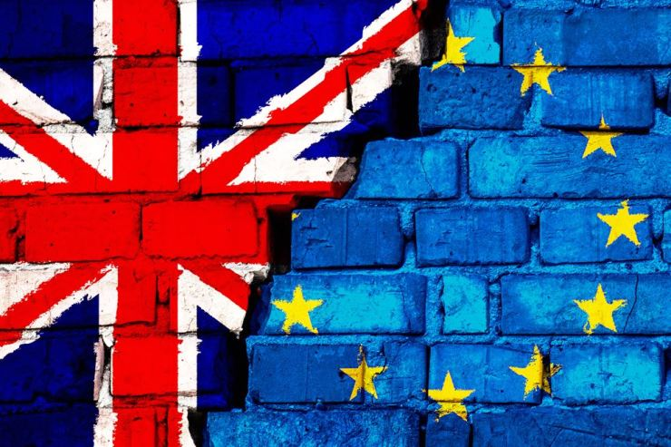 A recent poll shows that a majority of Britons want their country out of the European Union 'by any means.' Gettyimagesbank