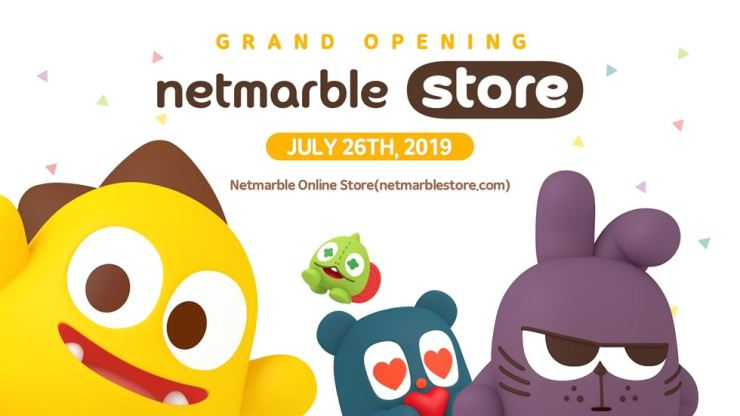 Netmarble opened its character shop Netmarble Store in Seoul, July 26. / Courtesy of Netmarble