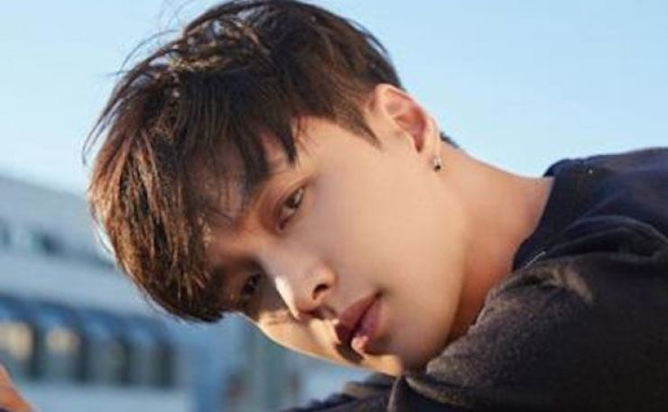 Lay Zhang is a Chinese member of K-pop boy band EXO. Courtesy of SM Entertainment
