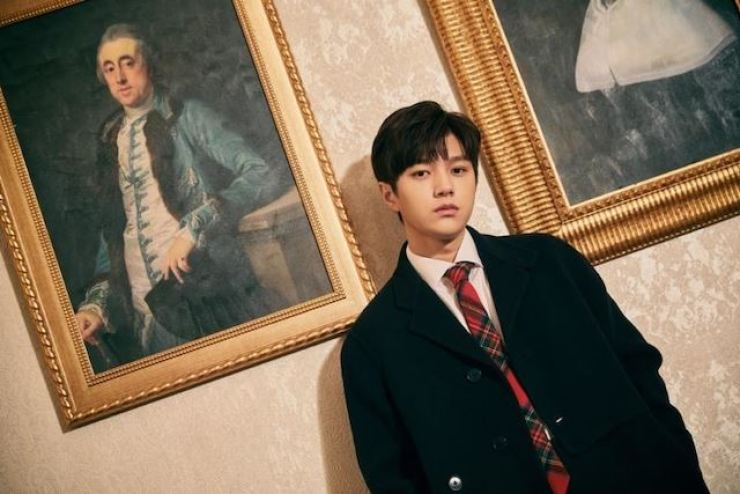L says he has decided to tackle a new challenge. Courtesy of Woollim Entertainment