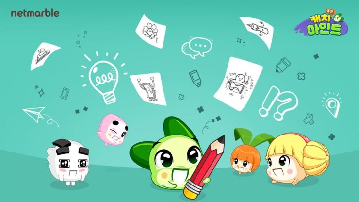 Netmarble released 'Koongya Catch Mind,' which utilizes the firm's own Koongya characters, Thursday. / Courtesy of Netmarble