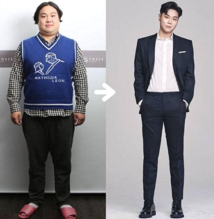 Yoo Jae-hwan ― from 104kg to 72kg. / Courtesy of Juvis