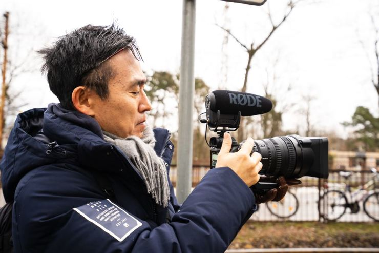 Kim Deog-young, director of the documentary