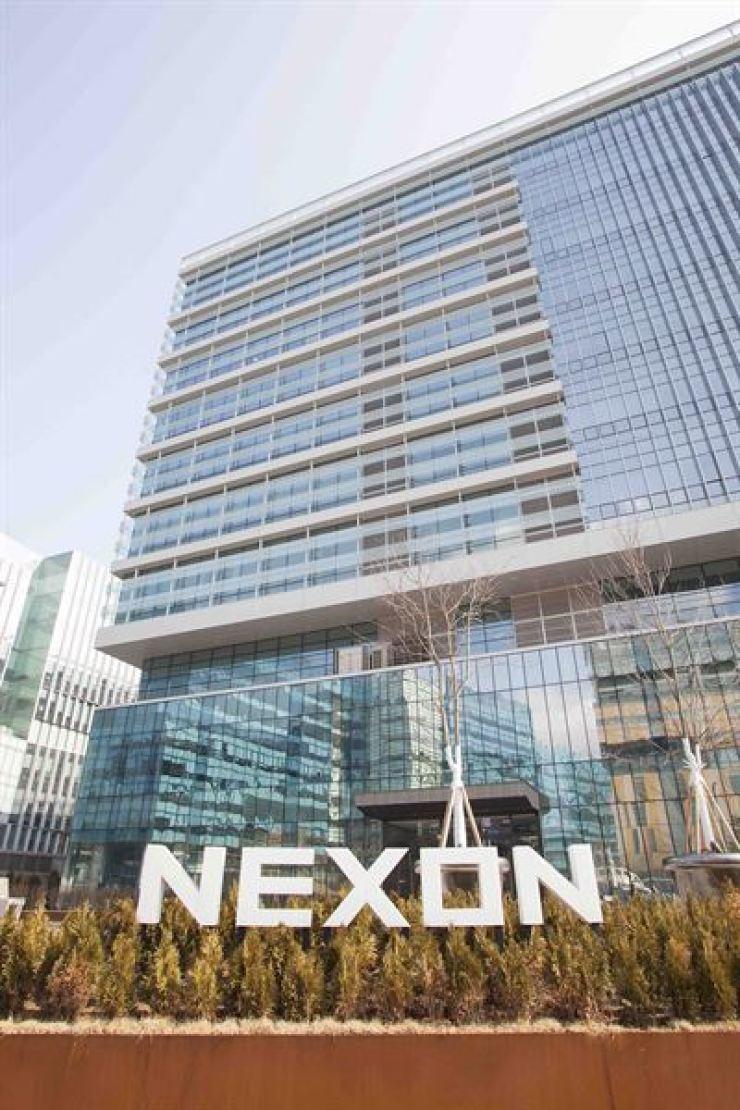 Nexon Korea's building in Pangyo, Gyeonggi Province. / Courtesy of Nexon Korea