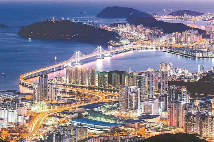 Busan is one of the favorite domestic travel destinations. / Courtesy of Expedia