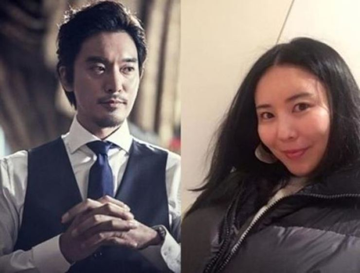 This combined photo shows actor Kim Min-jun, left, and K-pop star G-Dragon's sister Kwon Da-mi. The two will hold a closed wedding ceremony in October. Korea Times file