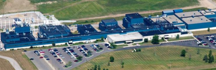 DuPont's silicon carbide (SiC) wafer plant in Michigan. / Courtesy of SK Siltron