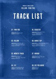The group disclosed the tracklist on Twitter, Monday. Courtesy of Starship Entertainment
