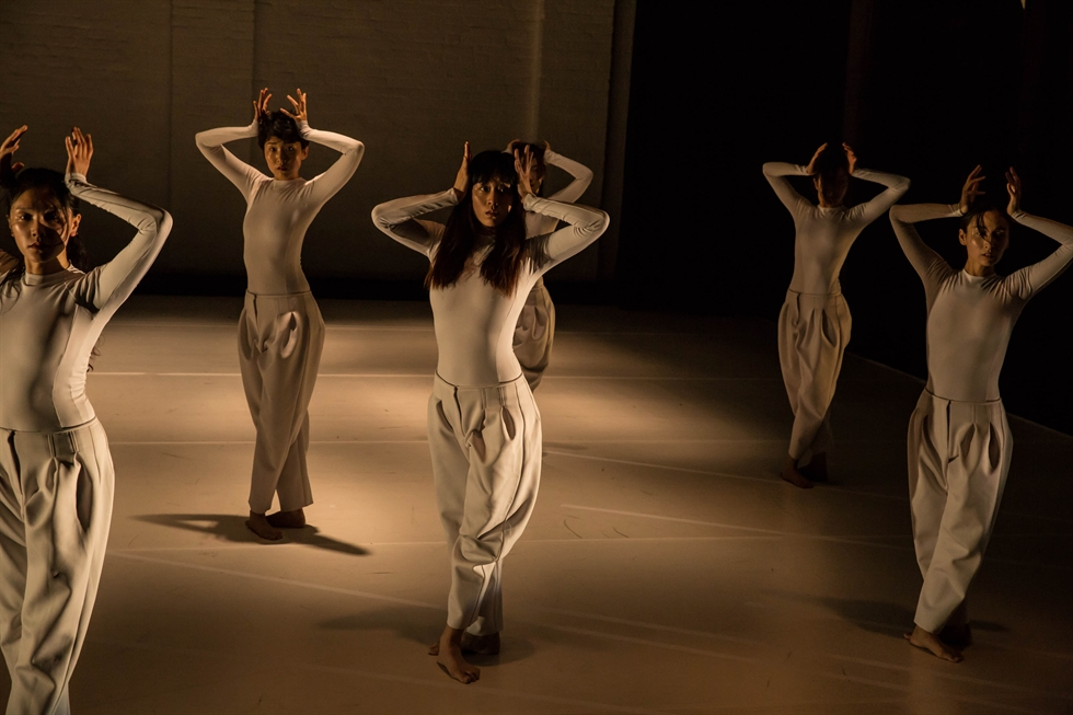Choreographer Kim Bora. She leads her dance company 'Art Project BORA.' Courtesy of Jinwoo Mok