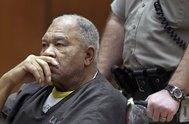 In this March 4, 2013, file photo, Samuel Little appears at Superior Court in Los Angeles. Little, pronounced by the FBI the most prolific serial killer in U.S. history, has confessed to more than 90 slayings committed across the country between 1970 and 2005. AP