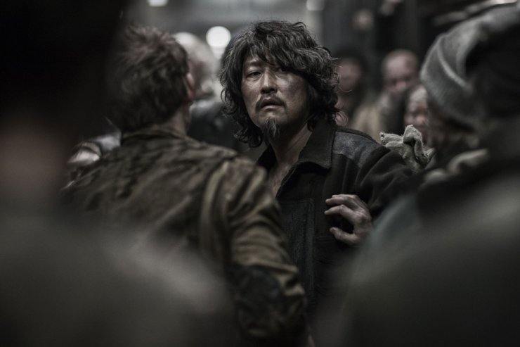 A still featuring actor Song Kang-ho from 'Snowpiercer' (2013), directed by Bong Joon-ho./ Korea Times file