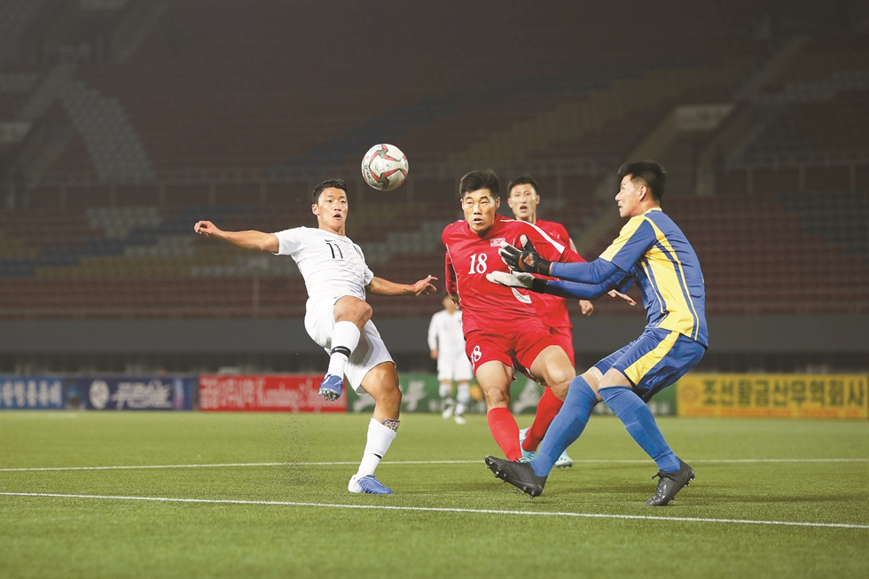 Pyongyang World Cup qualifier: no audience, no TV coverage