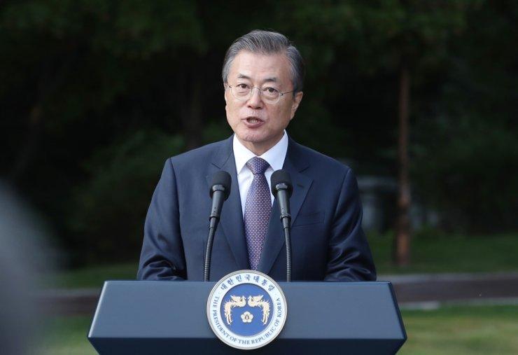President Moon Jae-in / Yonhap