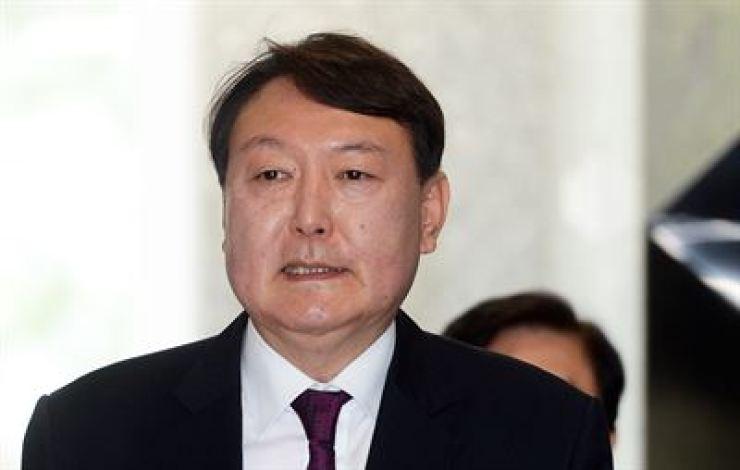 Prosecutor-General Yoon Seok-youl