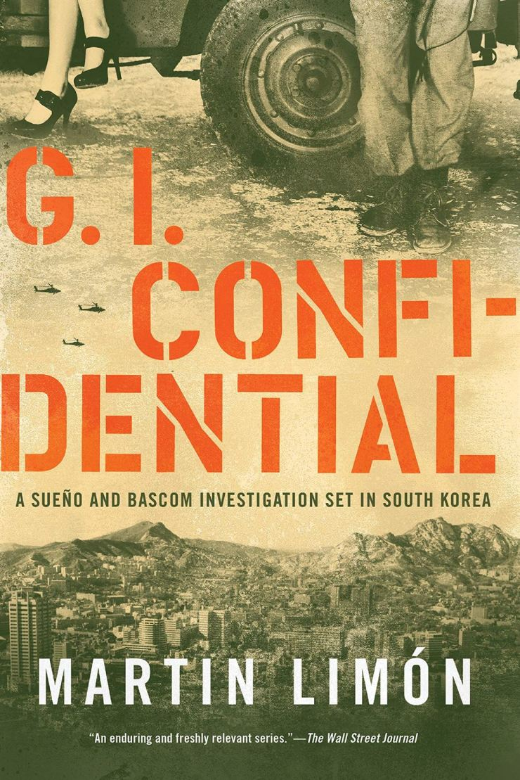 The cover of 'GI Confidential' by Martin Limon