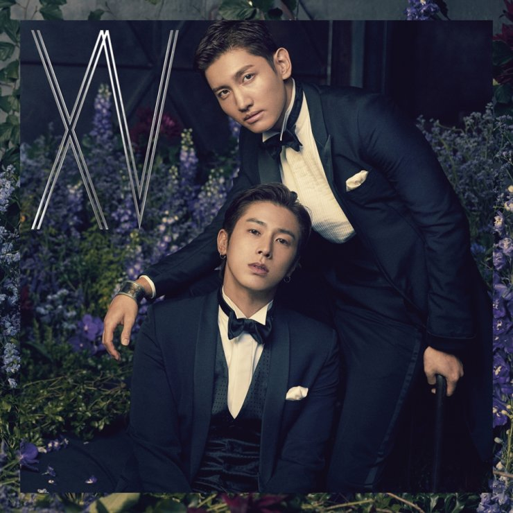 K-pop boy duo TVXQ is the first foreign act to dominate Japan's Oricon weekly album chart for the eighth time. Courtesy of SM Entertainment