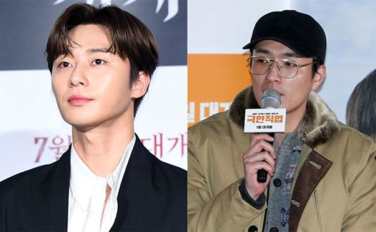 Actor Park Seo-joon will star in filmmaker Lee Byung-hun's movie about a football team of homeless people. Korea Times file