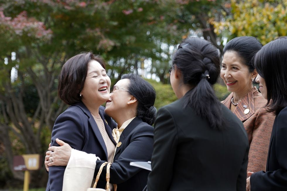Scenes from the Korea-Mekong summit Yonhap
