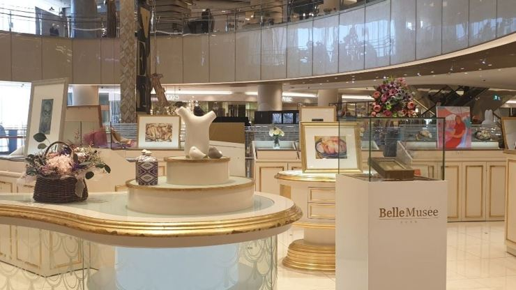 Lotte Department Store's high-end artwork shop 'Belle Musee' at Lotte Avenuel World Tower branch / Courtesy of Lotte Department Store