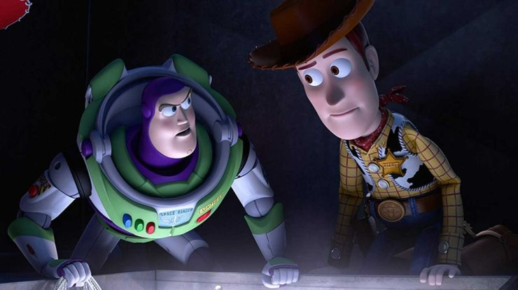 A scene from 'Toy Story 4'