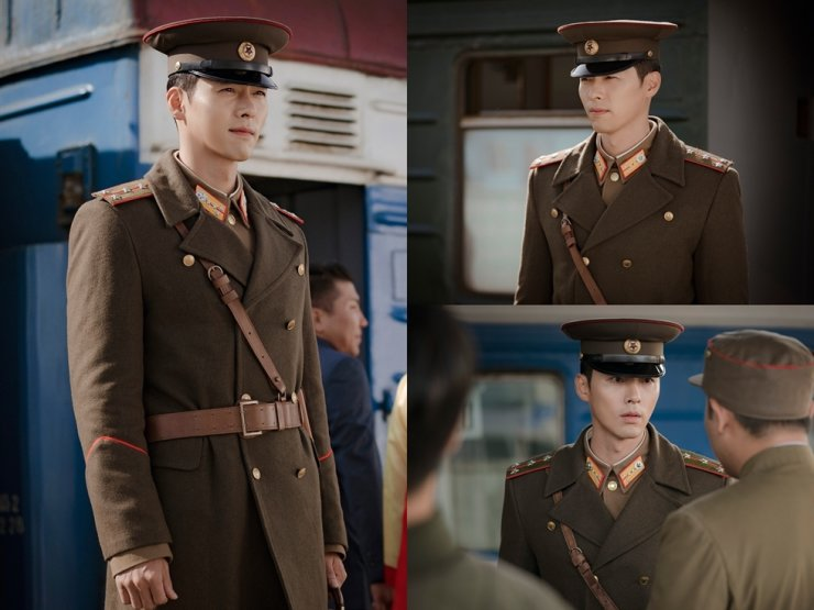 Hyun Bin appears as a North Korean officer in tvN's upcoming drama 'Crash Landing on You.' Courtesy of tvN