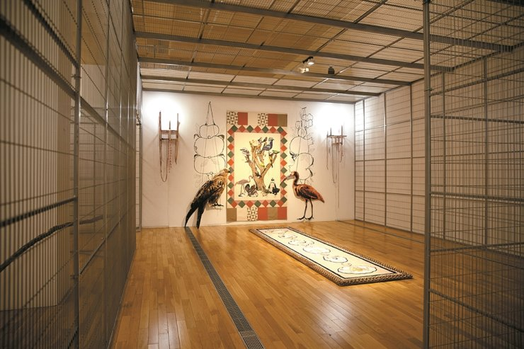 Hong Young-in 'Sadang B' is on display at the Korea Artist Prize 2019 exhibition at the National Museum of Modern and Contemporary Art, Seoul. / Courtesy of MMCA