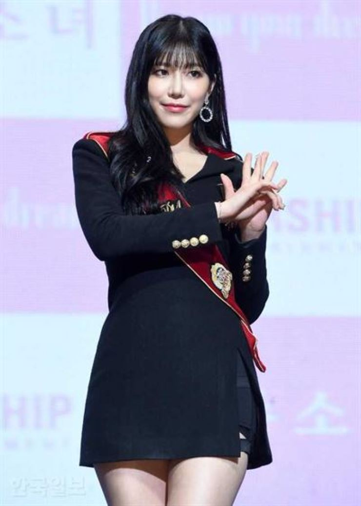 Dawon, a member of K-pop girl group Cosmic Girls, is suffering from an anxiety disorder. Korea Times file